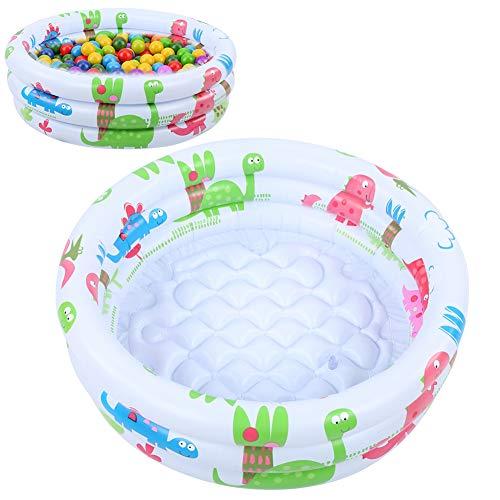 Mini piscina para bebés, piscina con bomba pequeña, con material de PVC...