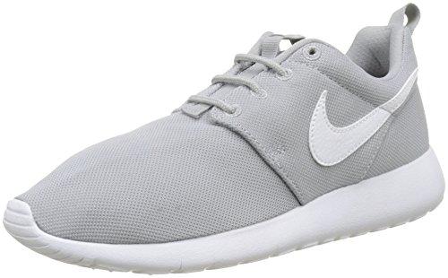 Nike Youth Roshe One (Wolf Grey/White/White)(5.5 M US Big Kid)