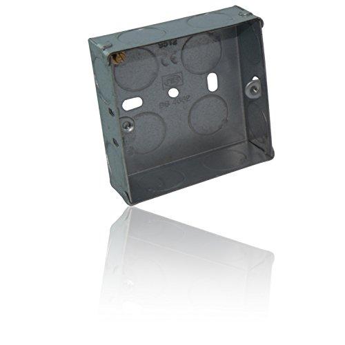 CDL Micro Design metalen behuizing/inbouwdoos, 25 mm, 1 versnelling