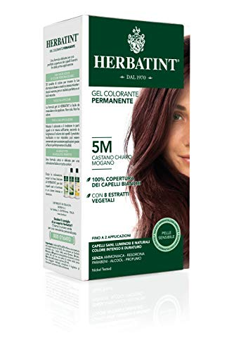 Herbatint - Colorant Permanent Aux Extraits Vegetaux 150ml Soin Herbatint - 5m Chatain Clair Acajou