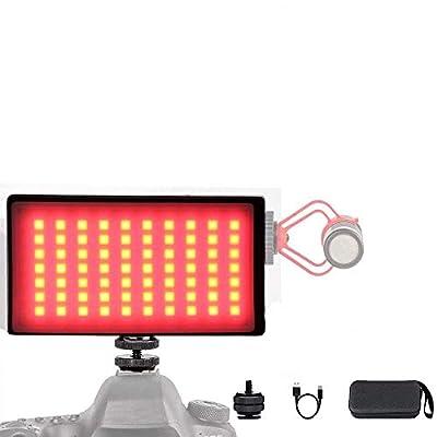 On Camera LED Video Light Lighting Kit
