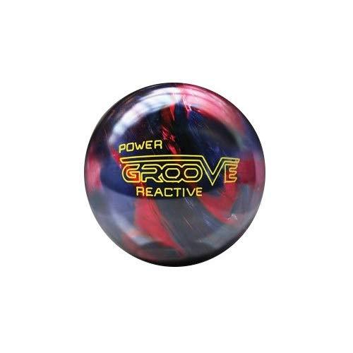 Brunswick Power Groove Ilusiona Bola Bowling, Unisex Adulto, Granate/Azul,...