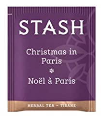 PARISIAN HOLIDAY: This unique herbal tea blends chocolate flavors with aromatic lavender and cool peppermint for a sophisticated cup. Add a touch of sugar and a splash of milk for a delightful dessert tea. SOOTHING HERBAL TEA: Whether it's Lemon Ging...