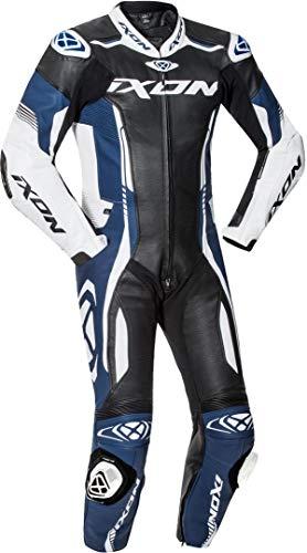 Ixon Vortex 2 1-Teiler Motorrad Lederkombi Schwarz/Weiß/Blau S