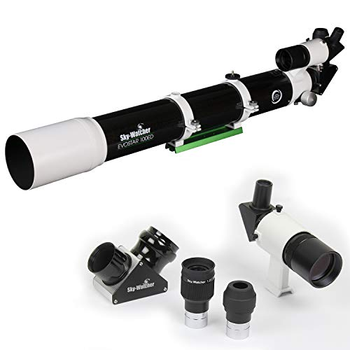 Sky-Watcher EvoStar 100 APO Doublet Refractor – Compact and Portable Optical Tube for Affordable Astrophotography and Visual Astronomy