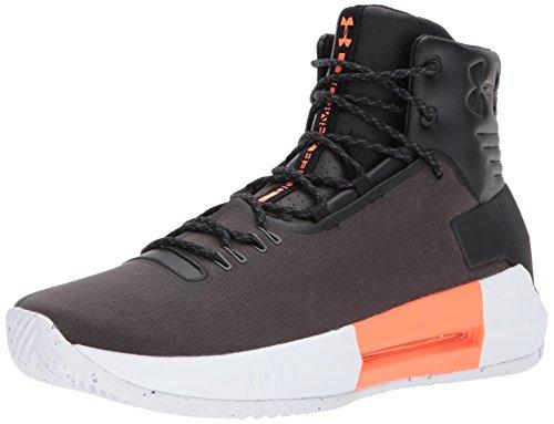 Under Armour Men's Drive 4 Premium Basketball Shoe, Black (001)/Black, 8.5