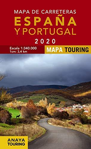 Mapa de Carreteras de España y Portugal 1:340.000, 2020 (Mapa Touring)