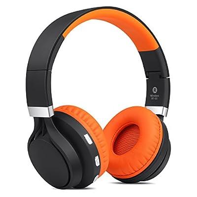 Ailihen BT-02 Over-ear Wireless Bluetooth CSR 4.0 Headphones Foldable Stereo Build-in Microphone