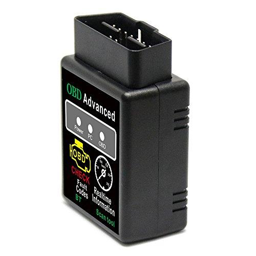 KKmoon OBD2V02h2–1V2.1BT 2.0Schnittstelle OBDII Car Scanner Scanner Code Reader Tool für Android Diagnose-Werkzeug für Auto