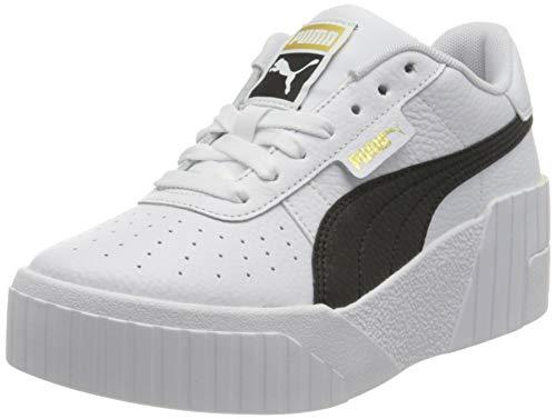 Puma Cali Wedge WN S, Zapatillas Mujer, White Black, 38 EU
