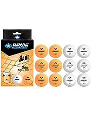 Donic-Schildkröt piłka do tenisa stołowego, jakość 40+, do wyboru w kolorach białym, pomarańczowym lub w mieszance kolorów, w blistrze, w torebce foliowej 12 lub w torbie z siatki 72 szt.