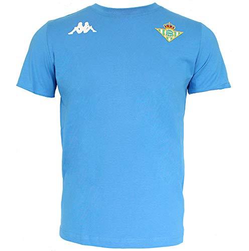 Real Betis - Temporada 2019/2020 - Kappa - ZOSHIM 3 Camiseta, Niños, Neutro, 14Y