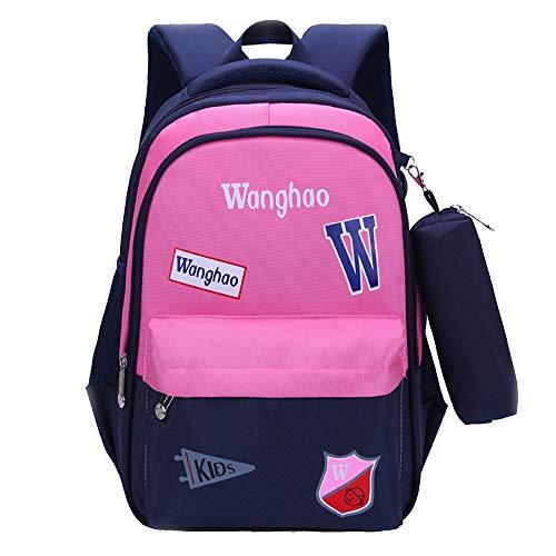 SLTO Schulrucksack, Mehrfach-Schultaschen Reisetasche, Clamshell-Tasche Wasserdichte Schulranzen Schulgeschenke für Mädchen | Kinder | Kinder-B