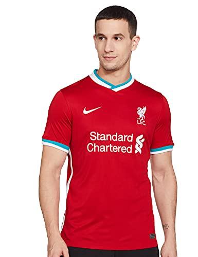 Nike Camiseta de fútbol Liverpool para hombre, Rojo, Medium
