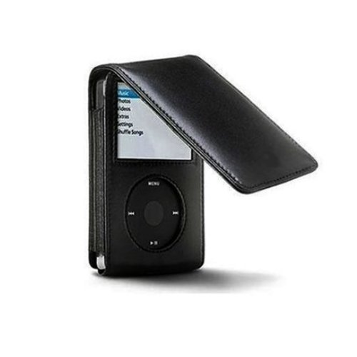 160GB iPod Classic Synthetic PU Leather Flip Case & Belt Clip For Apple iPod Classic (6th & 7th Generation) by iDelta