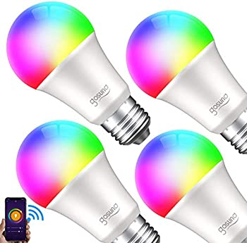4-Pack Gosund RGB Color Changing Smart LED Light Bulb