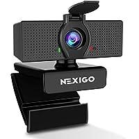 NexiGo 1080P HD Webcam With Microphone & Privacy Cover