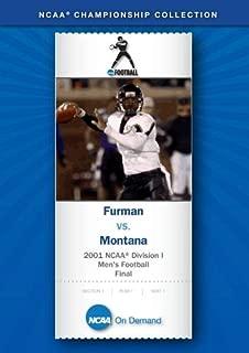2001 NCAA r Division I Men's Football Final - Furman vs. Montana