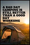 Camping Notebook gift for Campers: Camping Journal, Campers & RV Retirement Gifts Series, Adventure notebook,...