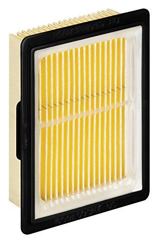 Bosch Professional 2607432046 Filtre à plis Faltenfilter für GAS 10,8V-LI, Noir, Jaune