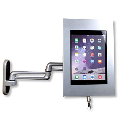 Soporte de pared flexible para tablet 450 mm Securo S - gris
