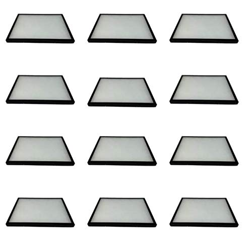 Southern Star Displays 12 Pack of Riker Display Cases 12 x 16 x 3 4 for Collectibles Arrowhead Jewelry