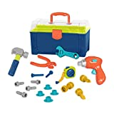 Battat – Battat Busy Builder Tool Box – Durable Kids Tool Set –