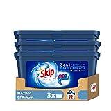 Skip Ultimate Detergente Capsulas 3en1 MAXIMA EFICACIA 24lav - Pack de 3