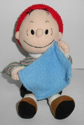 Rare! Peanuts Linus Van Pelt Plush by Kohls & Applause by Kohl's Peanuts Collection