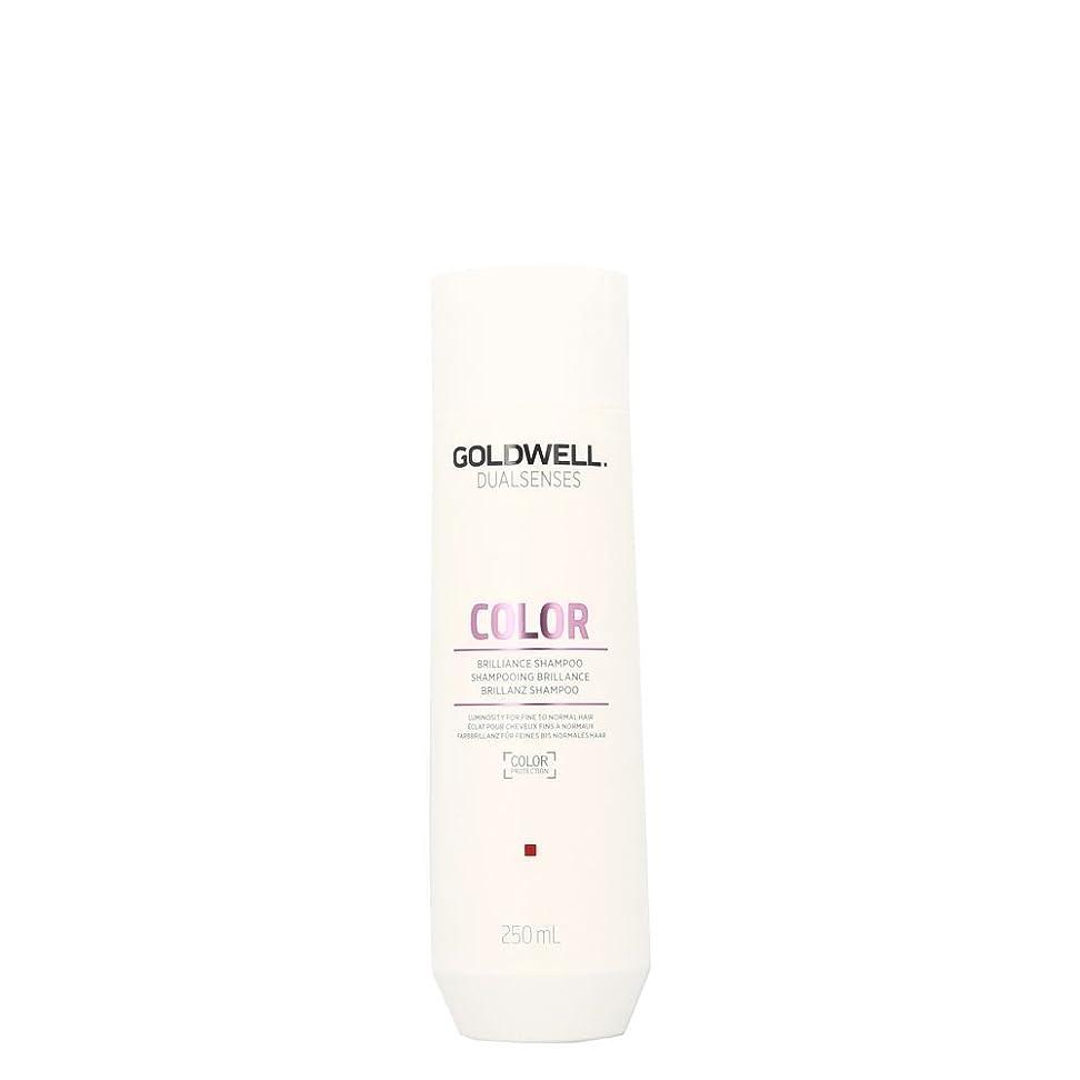 おとなしい黒女将ゴールドウェル Dual Senses Color Brilliance Shampoo (Luminosity For Fine to Normal Hair) 250ml