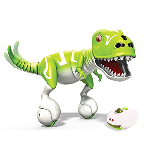 Spin Master Zoomer Dino RC Rolling Dinosaur Toy and Remote Control (Renewed)