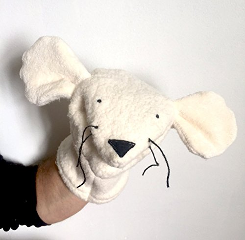 Organic Mouse Rat Hand Puppet Natural Kids Toy