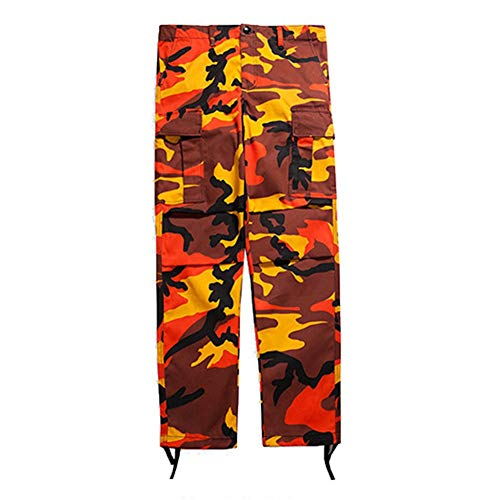 HX fashion Cargobroek Dames Heren Elegant Casual Comfortabele Maten Losse Camouflage Broek Mode Outdoor Beweging Leger Training Joggingbroek Sportbroek Joggingbroek