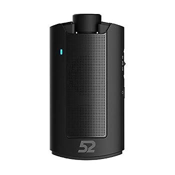 52Speaker Portable Bluetooth Bike Bicycle Speaker Dust Water Proof Riding Black
