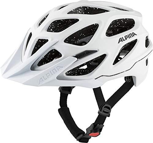Alpina Unisex– Erwachsene Mythos 3.0 TOCSEN Fahrradhelm, White matt, 52-57 cm