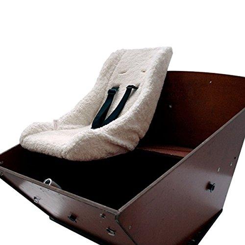 Melia Unisex Baby Satteltasche Pro Pack, W/Fixer F27, Grau, 12.5 x 9 x 8 cm, 0.31 Liter