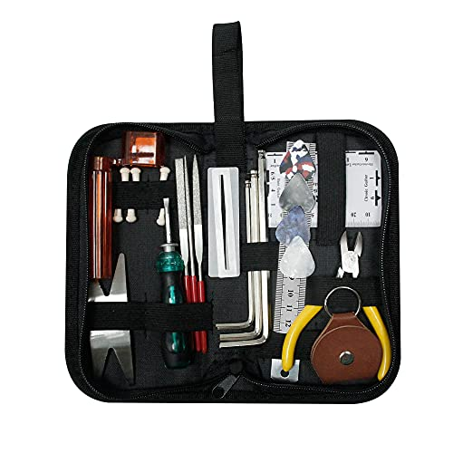 Guitar Repairing Tool Kit(26PCS) Wire Plier,String Organizer,Fingerboard...