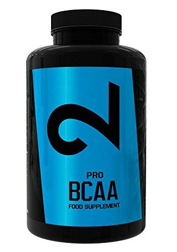 DUAL Pro BCAA |Complément Alimentaire pour Prise de Masse et Récupération Musculaire| Trois Acides Aminés Essentiels, Leucine, Valine et Isoleucine| Enrichi en Vitamine B6|150 Comprimés Végétaliens