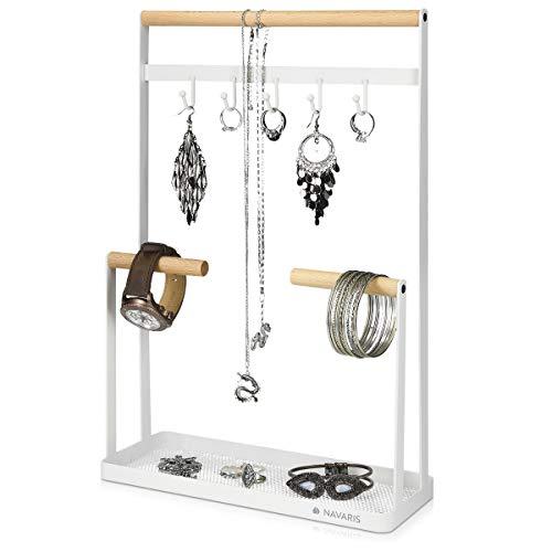 Collar de forma ovalada joyas de cuerpo Soporte expositores para comercio mostrar Conjunto de 3