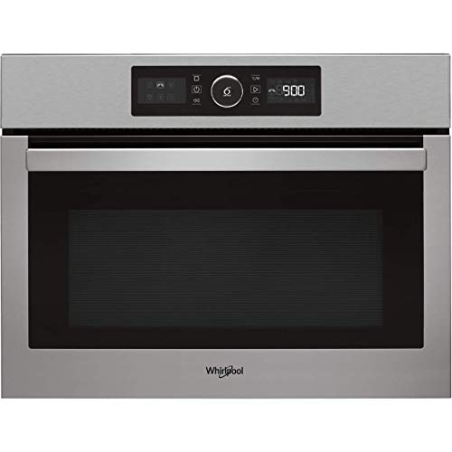 Whirlpool Absolute AMW9615IXUK Built In Combination Microwave Oven, 40L capacity, 900W, Stainless Steel
