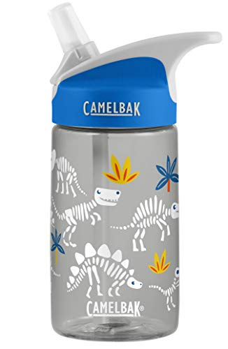 CamelBak Eddy Kids .4L Water Bottle, Skeletons, .4L