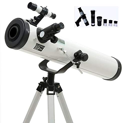 Lowest Prices! 76/700 Telescope, Reflector Telescope, Astronomy Telescopes for Childrens, Portable T...