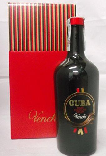 LIQUORE AL CIOCCOLATO CUBA RHUM CHOCOLATE CREAM VENCHI 70ck 17% Vol IN ASTUCCIO REGALO