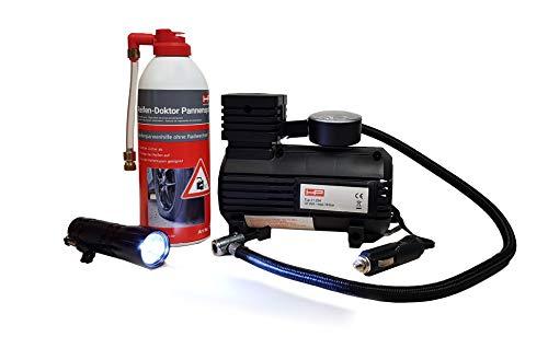HP Autozubehör 10257 Reifen-Pannen-Set mit Spray, Polyester
