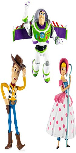 SwimWays Toy Story Dive Characters, Woody, Buzz Lightyear, & Bopeep Pool Toys, Pack of 3