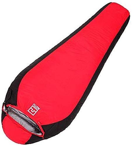 Sac de Couchage en Duvet de Canard épaississement Ultra-léger de Style Mahomme (Couleur  Rouge)