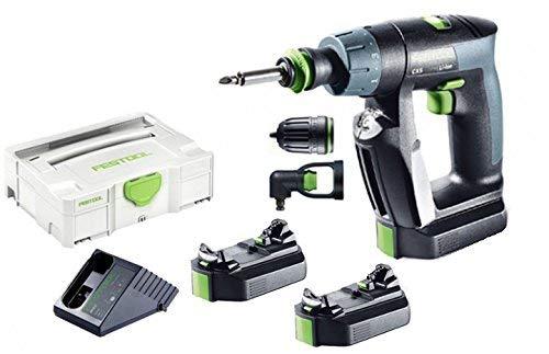 Festool 564532 - Taladro atornillador de batería CXS Li 2,6-Set