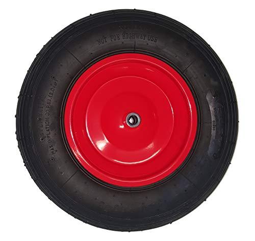 ALTRAD LIMEX Schubkarrenrad rot 4,0x8 Ersatzrad Luftreifen Baukarre Gartenkarre