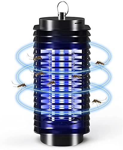 Lámpara Antimosquitos, Lámpara Mosquito Electrico UV Luz Lampara, Electrico Lámpara Anti Mosquitos Moscas Bugs Insects Killer para la Cocina la Sala de Estar el Cuarto de los Niños