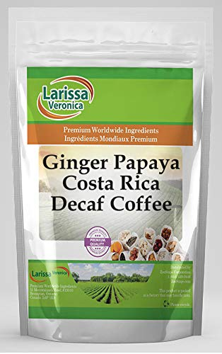Ginger Papaya Costa Rica Bombing 2021 new work Decaf Naturally Gourmet Flavor Coffee